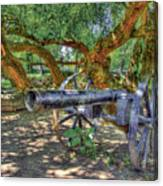 Fort Harrod Cannon Canvas Print