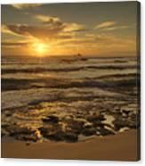 Fort Haze Beach Canvas Print