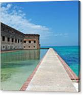 Fort Jefferson Dry Tortugas Canvas Print