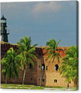 Fort Jefferson Canvas Print