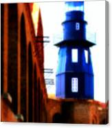 Fort Jefferson Lighthouse Canvas Print