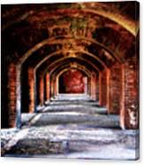 Fort Jefferson Canvas Print