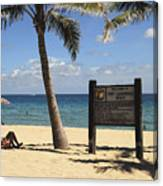 Fort Lauderdale Beach Canvas Print