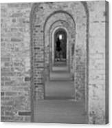 Fort Macon Going Home Canvas Print