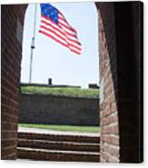 Fort Mchenry Star Spangled Banner Canvas Print