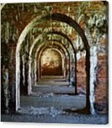 Fort Morgan Arches Canvas Print