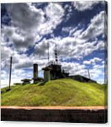 Fort Moultrie Bunker Canvas Print