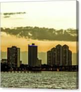 Fort Myers Skyline Canvas Print