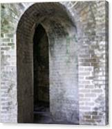 Fort Pickens Entrance Canvas Print