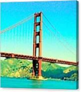 Fort Point Golden Gate Bridge Canvas Print
