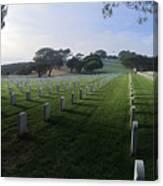 Fort Rosecrans National Cemetery Canvas Print