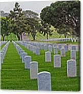 Fort Rosencrans National Cemetery Canvas Print