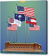 Fort Sumter, Charleston, Sc Canvas Print