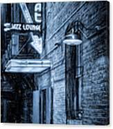 Fort Worth Impressions Scat Lounge Bw Canvas Print