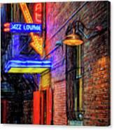 Fort Worth Impressions Scat Lounge Canvas Print