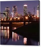 Fort Worth Panorama Canvas Print