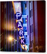 Fort Worth Park Sq Canvas Print