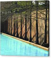 Fort Worth Water Gardens - Quiet Pool Canvas Print
