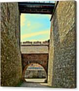 Fortress Ehrenbreitstein. Koblenz. Germany.  Canvas Print