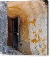 Fortress Window Canvas Print