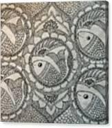 Fortune Fish Canvas Print