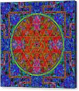 Fortune Mandala Canvas Print