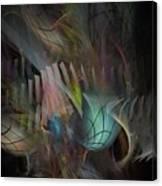 Fortune Willing - Fractal Art Canvas Print