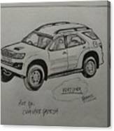 Fortuner  Canvas Print