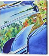 Forty Ford In Fall Canvas Print