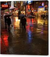 Forty Second St. Canvas Print