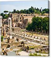 Forum Canvas Print