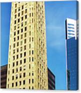 Foshay Tower From The Street Canvas Print