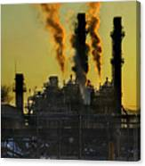 Fossil Fuels Canvas Print
