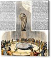 Foucaults Pendulum Canvas Print