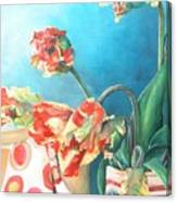 Foulard Canvas Print