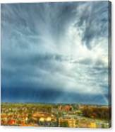 Founds Clouds Canvas Print