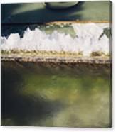 Fountain Closeup Canvas Print