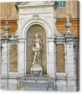 Fountain In The Vatican City  Canvas Print