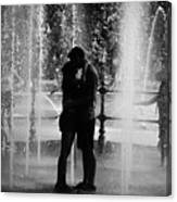 Fountain Love Canvas Print
