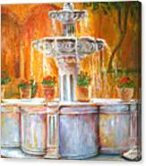 Fountain Of Truth Canvas Print