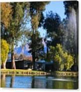 Fountains 2 Canvas Print