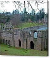 Fountains Abbey 4 Canvas Print