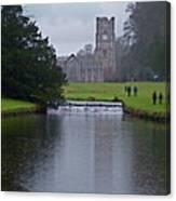 Fountains Abbey 5 Canvas Print