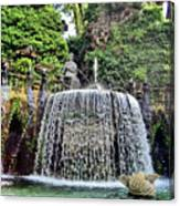 Fountains.  Tivoli. Canvas Print