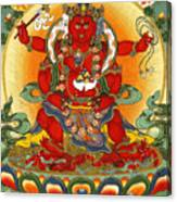 Four Armed Dzambhala Canvas Print
