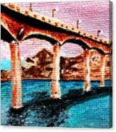 Four Bears Bridge Canvas Print