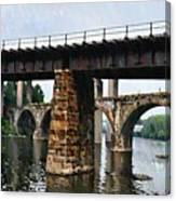 Four Bridges Of East Falls Canvas Print