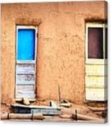 Four Doors At Taos Canvas Print