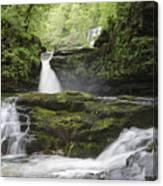 Four Falls Walk Waterfall 5 Canvas Print
