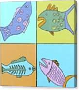 Four Fish Canvas Print